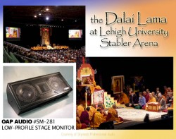 THE DALAI LAMA, LEHIGH UNIVERSITY, STABLER ARENA